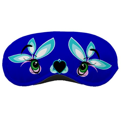 Flower Sleep Mask By Birkie   Sleeping Mask   Mwcueyrkba4z   Www Artscow Com Front