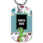 Monster Party 2 Sided Dog Tag 1 - Dog Tag (Two Sides)