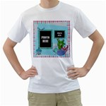 Monster Party 2 sided T Shirt - White T-Shirt