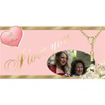 Love Mum 3d card - MOM 3D Greeting Card (8x4)