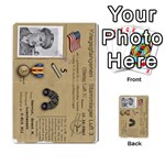 Escape_with_Honour_new - Multi-purpose Cards (Rectangle)