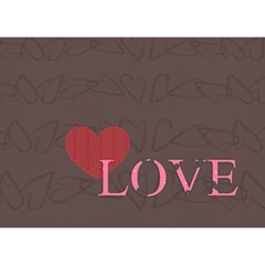 Love By Joely   I Love You 3d Greeting Card (7x5)   0gngfhkn68it   Www Artscow Com Front