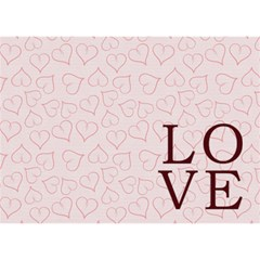 Love By Joely   I Love You 3d Greeting Card (7x5)   V4mv341eioxj   Www Artscow Com Back