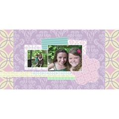 Simply Charming Best Friends 3d Card By Klh   Best Friends 3d Greeting Card (8x4)   400e26ouuyww   Www Artscow Com Front