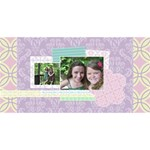 Simply Charming Best Friends 3D Card - Best Friends 3D Greeting Card (8x4)