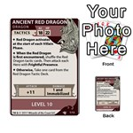 DDA - Level 10 - Red Dragon - Multi-purpose Cards (Rectangle)
