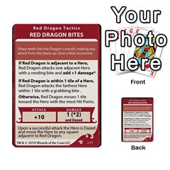 Dda   Level 10   Red Dragon By Regino Sanchez   Multi Purpose Cards (rectangle)   Slry77m96wt7   Www Artscow Com Front 2