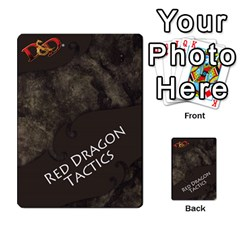 Dda   Level 10   Red Dragon By Regino Sanchez   Multi Purpose Cards (rectangle)   Slry77m96wt7   Www Artscow Com Back 13
