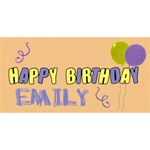 It is your birthday 3D card - Happy Birthday 3D Greeting Card (8x4)