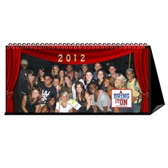 Bring It On The Musical Desk Calendar By Pat Kirby   Desktop Calendar 11  X 5    Rbkd8pz33r3i   Www Artscow Com Cover