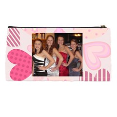 Jamies Pencil Pouch By Jill Grell   Pencil Case   736hbico1qvw   Www Artscow Com Back