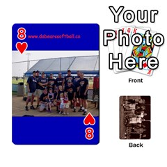 Da Bears Playing Cards By Jimmy Reilly   Playing Cards 54 Designs   Bynav8y9fodc   Www Artscow Com Front - Heart8