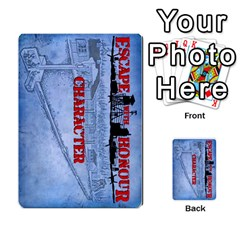 Escape With Honour Landscape New By Jonathan Warren   Multi Purpose Cards (rectangle)   A20zlco32a8d   Www Artscow Com Back 1