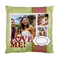 Love By Joely   Standard Cushion Case (two Sides)   43pi9rugkaqr   Www Artscow Com Back