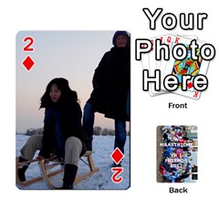 Playing Cards Ayano By Margaret Since   Playing Cards 54 Designs   Mmlikatpyqj2   Www Artscow Com Front - Diamond2