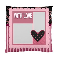 Love By Mac Book   Standard Cushion Case (two Sides)   0ptoym0htqcr   Www Artscow Com Front