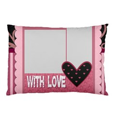 Love By Mac Book   Pillow Case (two Sides)   5u1tpbr05o9d   Www Artscow Com Front