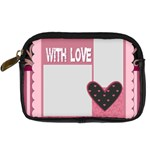 love - Digital Camera Leather Case