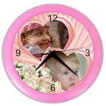 Little Princess Wall Clock - Color Wall Clock