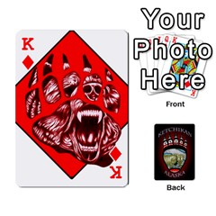 King Ketchikan Bear Paw Cards By Jeff Whitesides   Playing Cards 54 Designs   L6az46js4qsx   Www Artscow Com Front - DiamondK
