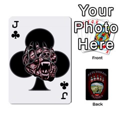 Jack Ketchikan Bear Paw Cards By Jeff Whitesides   Playing Cards 54 Designs   L6az46js4qsx   Www Artscow Com Front - ClubJ