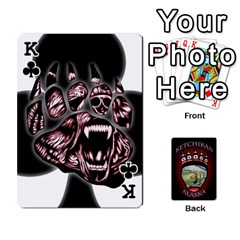 King Ketchikan Bear Paw Cards By Jeff Whitesides   Playing Cards 54 Designs   L6az46js4qsx   Www Artscow Com Front - ClubK