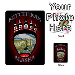 Ketchikan Bear Paw Cards By Jeff Whitesides   Playing Cards 54 Designs   L6az46js4qsx   Www Artscow Com Back