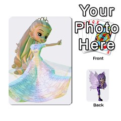 Queen Fairy Cards2 By Helen   Playing Cards 54 Designs   2dy493aslvuj   Www Artscow Com Front - SpadeQ