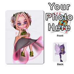 Fairy Cards2 By Helen   Playing Cards 54 Designs   2dy493aslvuj   Www Artscow Com Front - Club2