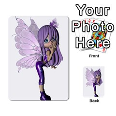 Fairy Cards2 By Helen   Playing Cards 54 Designs   2dy493aslvuj   Www Artscow Com Back