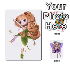 Fairy Cards By Helen   Playing Cards 54 Designs   Naaz720wbr4y   Www Artscow Com Front - Heart4
