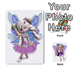 Fairy Cards By Helen   Playing Cards 54 Designs   Naaz720wbr4y   Www Artscow Com Front - Spade4