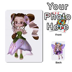 Fairy Cards By Helen   Playing Cards 54 Designs   Naaz720wbr4y   Www Artscow Com Front - Diamond6