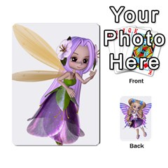 Fairy Cards By Helen   Playing Cards 54 Designs   Naaz720wbr4y   Www Artscow Com Front - Diamond8