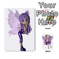 Jack Fairy Cards By Helen   Playing Cards 54 Designs   Naaz720wbr4y   Www Artscow Com Front - DiamondJ