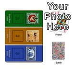 Biblios Stamp Collecting Deck 1 - Playing Cards 54 Designs