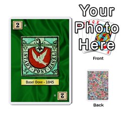 Jack Biblios Stamp Collecting Deck 2 By Heath Doerr   Playing Cards 54 Designs   Nmm8bqpxntak   Www Artscow Com Front - SpadeJ
