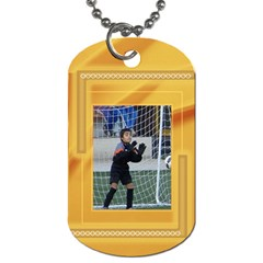 Mustard Dog Tag (2 Sided) By Deborah   Dog Tag (two Sides)   32p754tr5ex4   Www Artscow Com Back