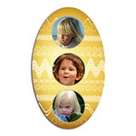 Diet Easter magnet Gold - Magnet (Oval)