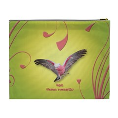 Galah Cos Bag By Renee   Cosmetic Bag (xl)   Zkenaij74w3a   Www Artscow Com Back