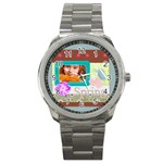 Flower of spring - Sport Metal Watch