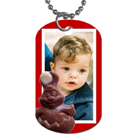 Easter Dog Tag By Deborah   Dog Tag (one Side)   Tc6zz4njyqcl   Www Artscow Com Front