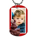 Easter Dog Tag - Dog Tag (One Side)