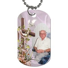 With My Lord (2 Sided) Dog Tag By Deborah   Dog Tag (two Sides)   Z15w2modhe71   Www Artscow Com Front
