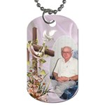 With My Lord (2 sided) Dog Tag - Dog Tag (Two Sides)