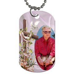 With My Lord (2 Sided) Dog Tag By Deborah   Dog Tag (two Sides)   Z15w2modhe71   Www Artscow Com Back