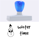 winter time - Rubber Address Stamp (XL)