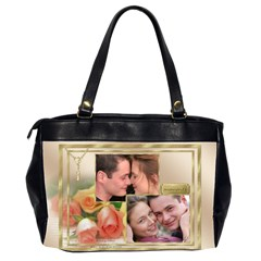 Our Love Oversize Office Bag (2 Sided) By Deborah   Oversize Office Handbag (2 Sides)   U4zrajrikn6l   Www Artscow Com Back