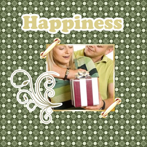 Happiness By May   Scrapbook Page 12  X 12    N9b7ggr11yw9   Www Artscow Com 12 x12 Scrapbook Page - 1