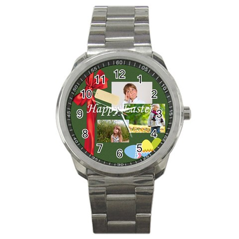 Easter By May   Sport Metal Watch   P4wkr3utb2tv   Www Artscow Com Front